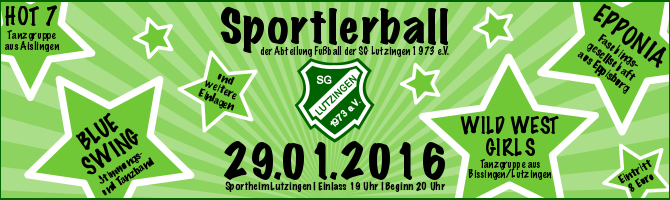 Sportlerball 2016 – Der Countdown läuft…
