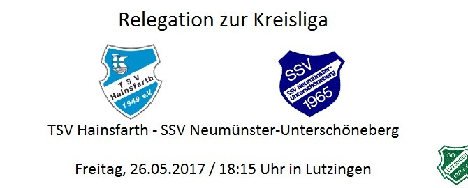 Relegation zur Kreisliga