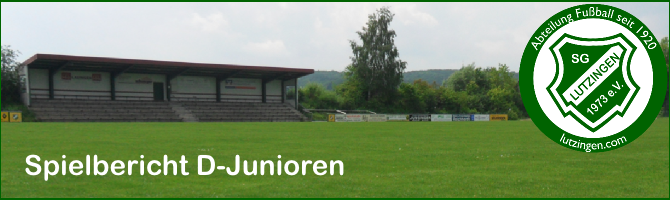 D-Junioren: TSV Bissingen – SGL 7:0