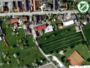 SGL Infrastruktur von oben - Sportheim/Schützenheim